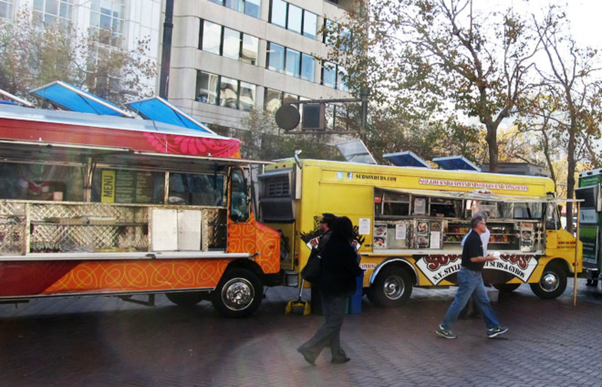 San Francisco food trucks. (Photo: Ken Lund/Flickr)