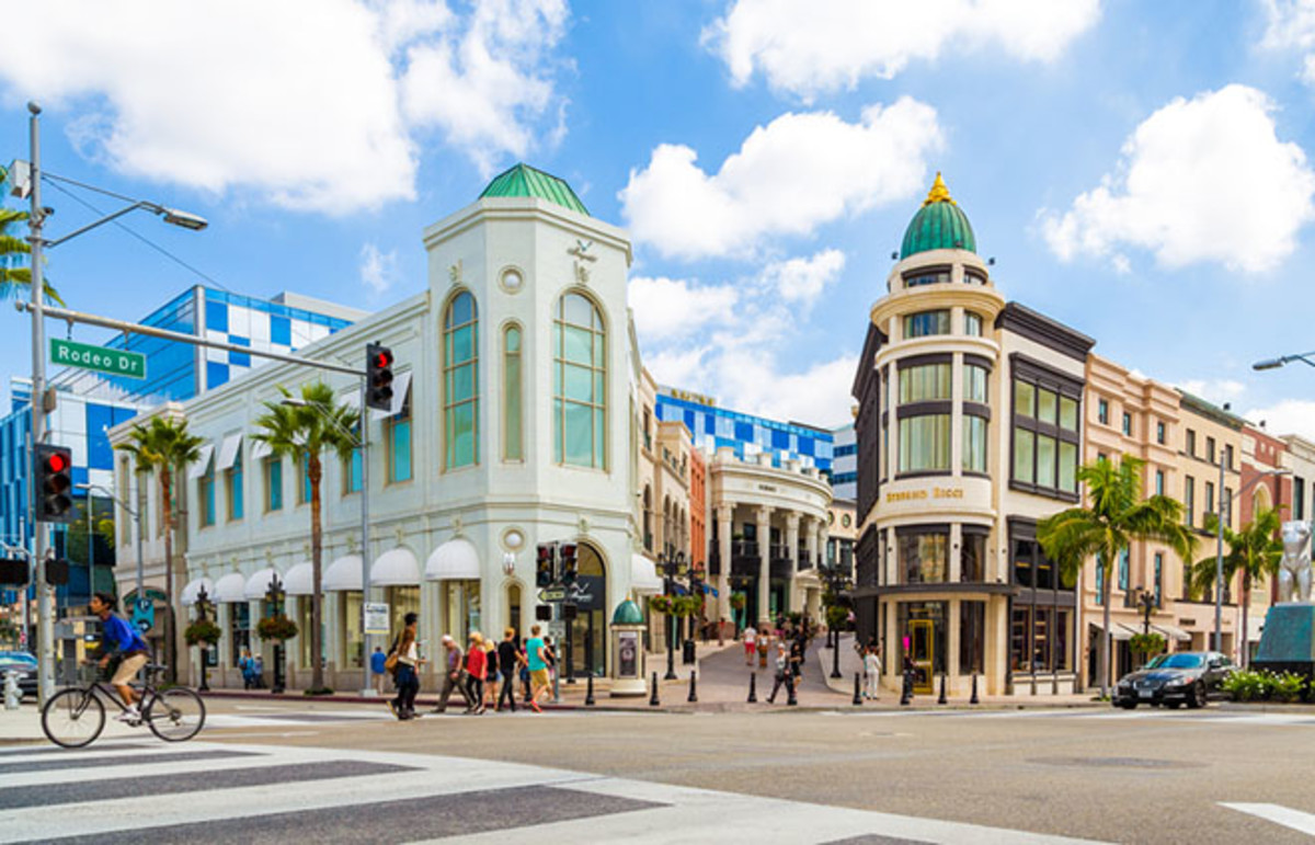Rodeo Drive in Beverly Hills, California. (Photo: Filipe Matos Frazao/Shutterstock)