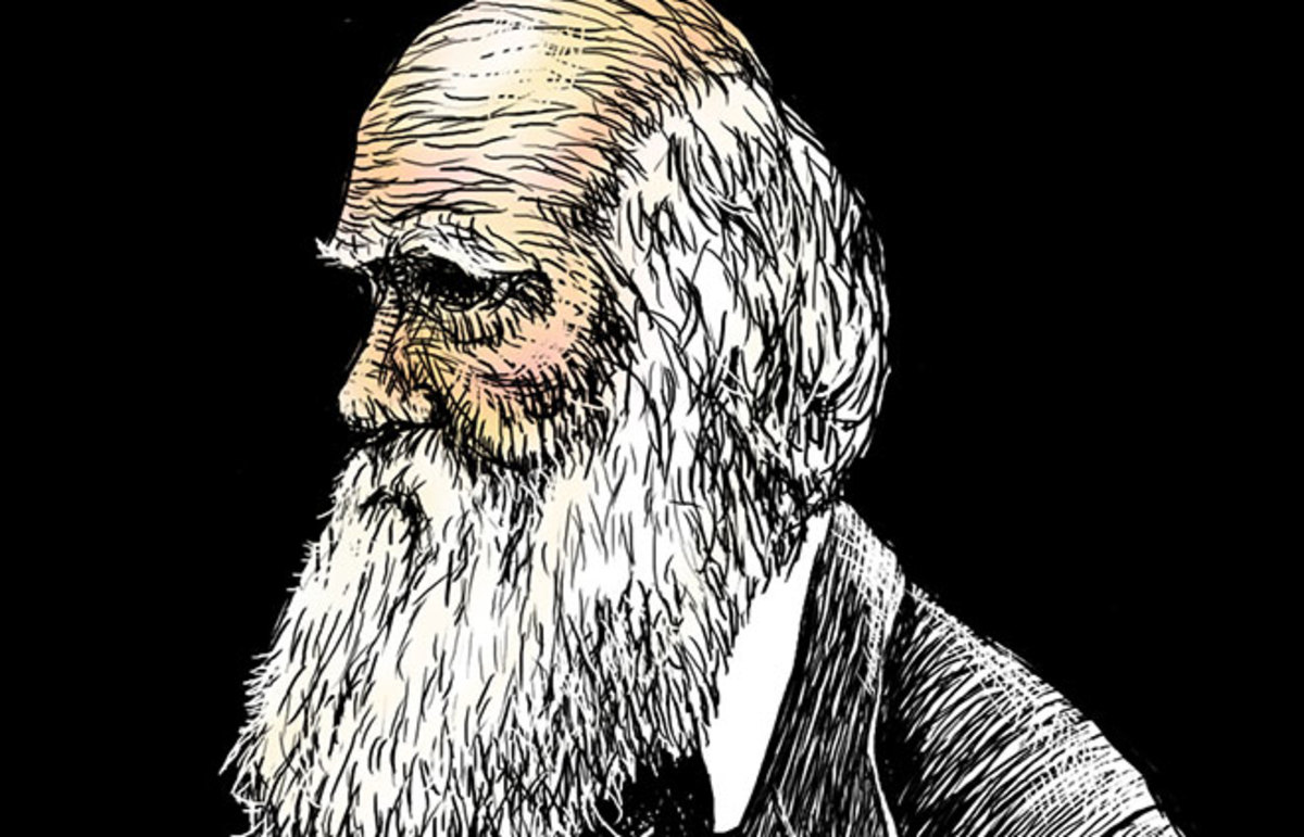 Charles Darwin. (Photo: three_point/Flickr)