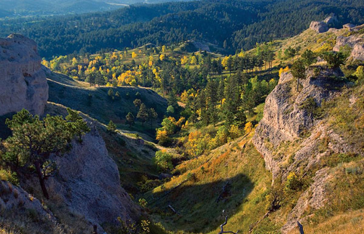 Nebraska's oldest state park, Chadron State Park. (Photo: Public Domain)