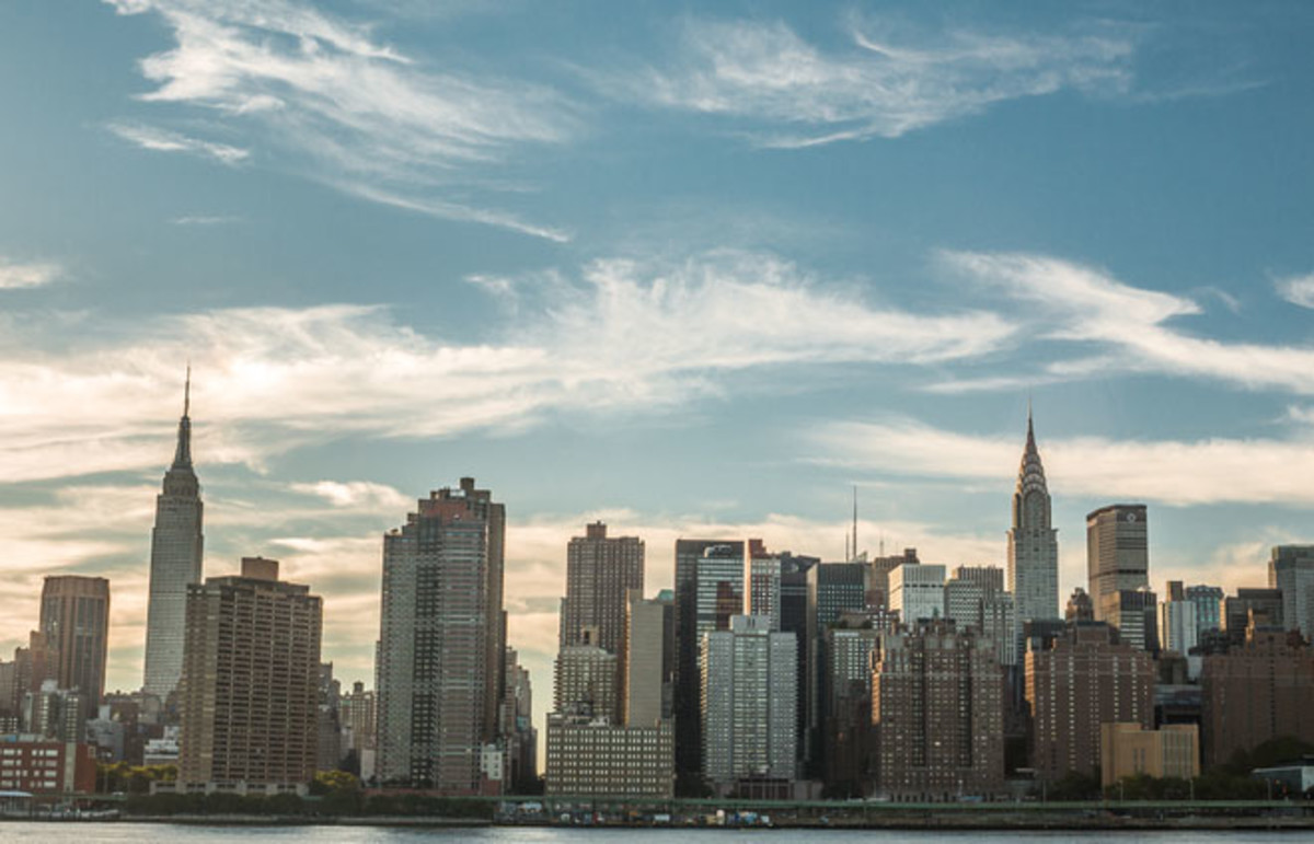 Manhattan skyline on September 9, 2013. (Photo: stockelements/Shutterstock)