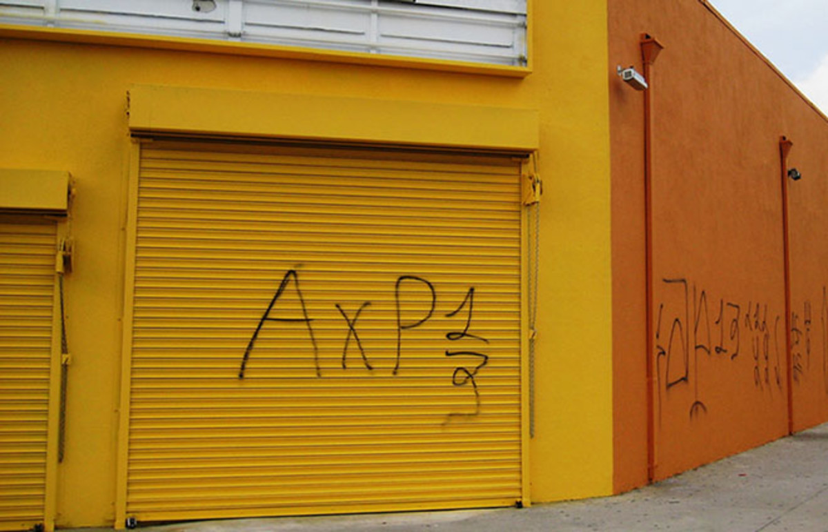 Armenian Power graffiti in Los Angeles' Little Armenia. (Photo: ultranow/Wikimedia Commons)