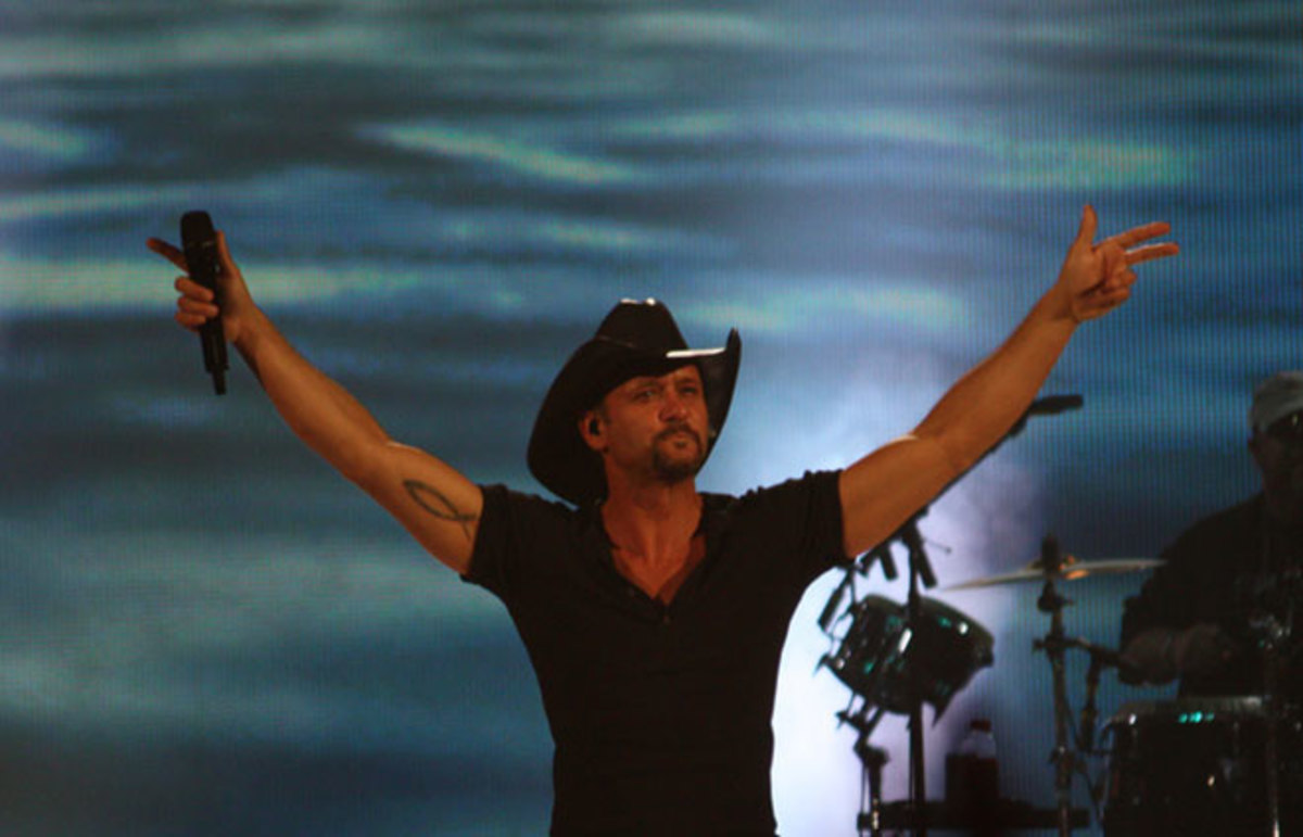 Tim McGraw. (Photo: 1035 WEZL/Flickr)