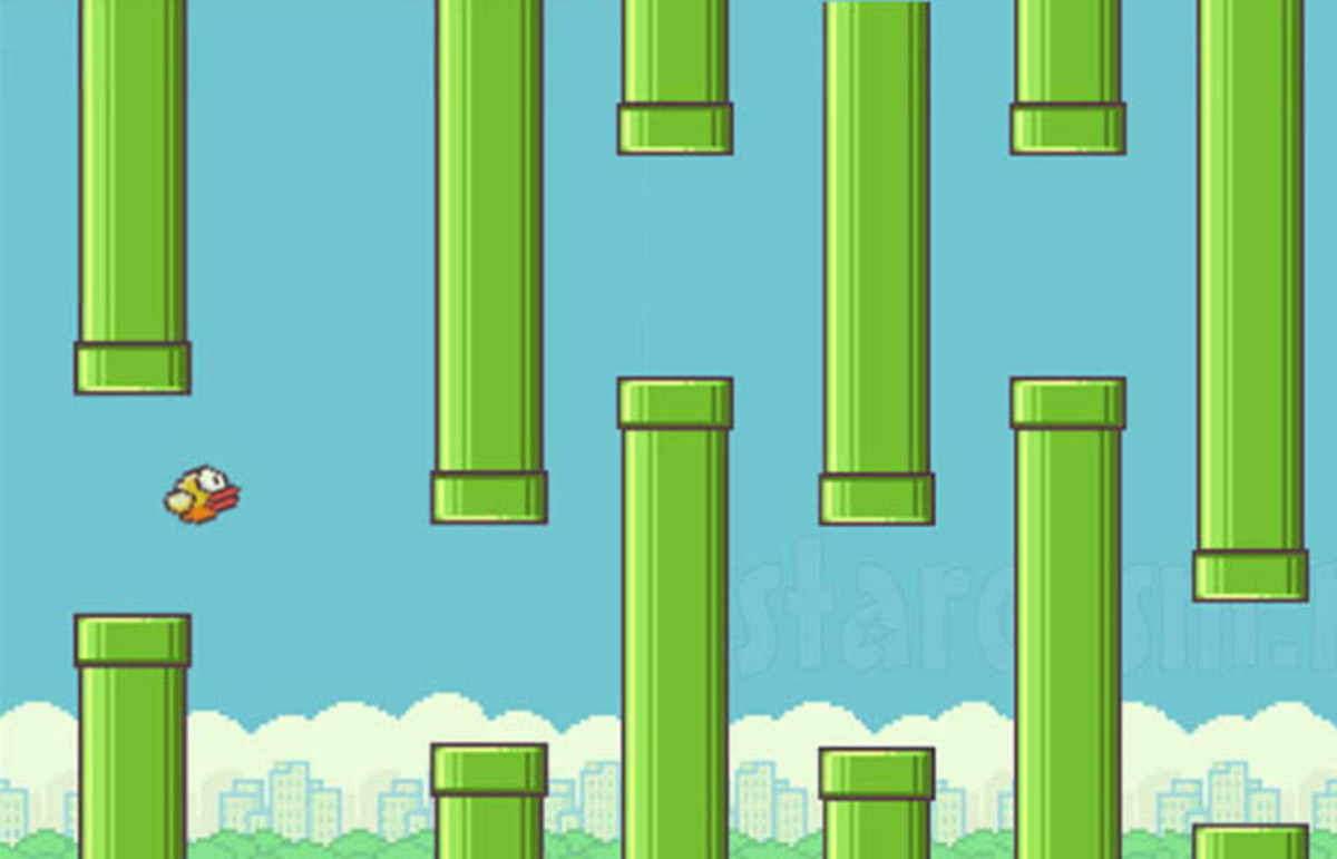 Flappy Bird. (Photo: .GEARS Studio)