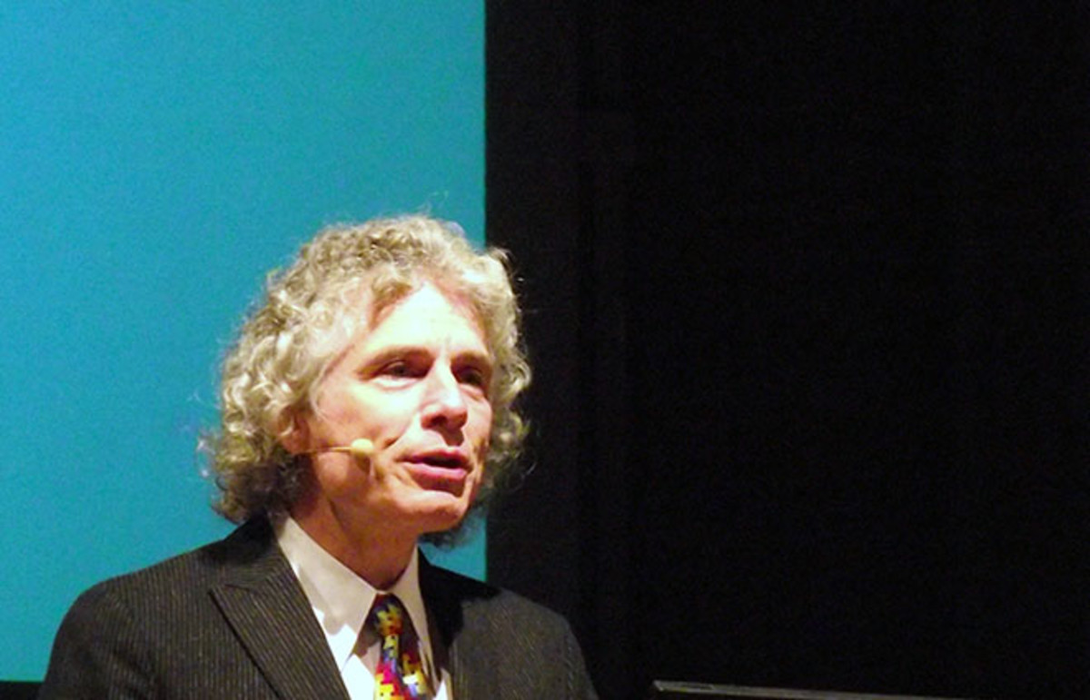 Steven Pinker at the Göttinger Literaturherbst, 2010. (Photo: G ambrus/Wikimedia Commons)