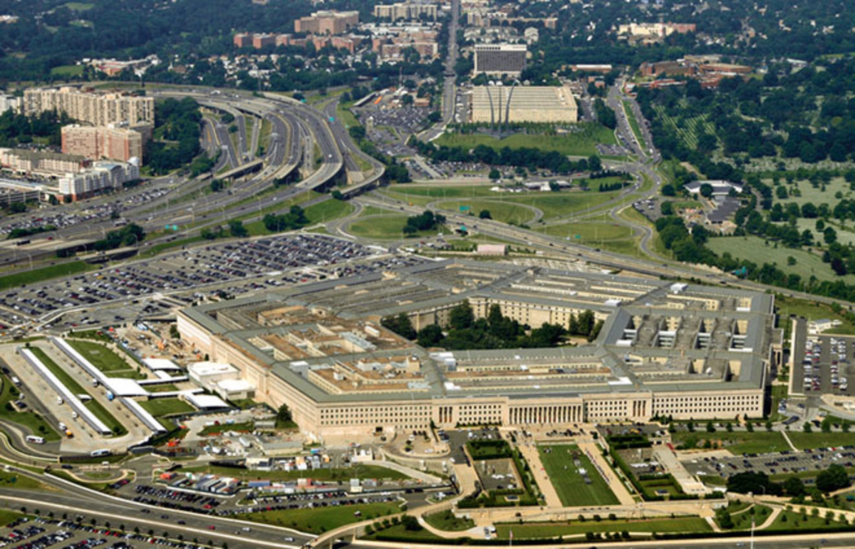 Aeriel view of the Pentagon. (Photo: Frontpage/Shutterstock)