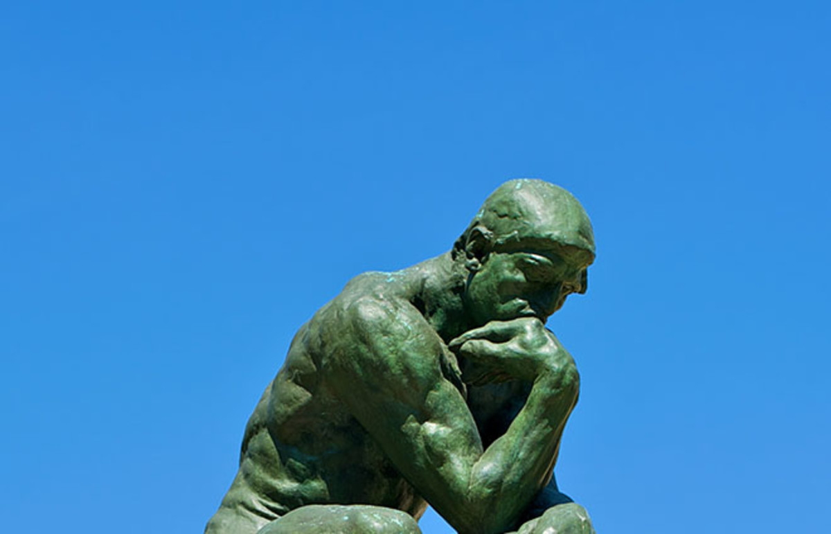 The Thinker. (Photo: Daniel Stockman/Wikimedia Commons)