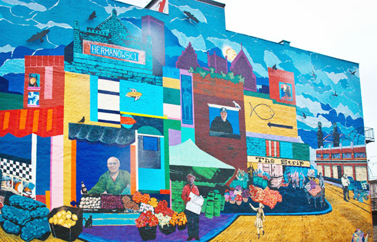 A mural in downtown Pittsburgh. (Photo: Maggie Deegan/Flickr)