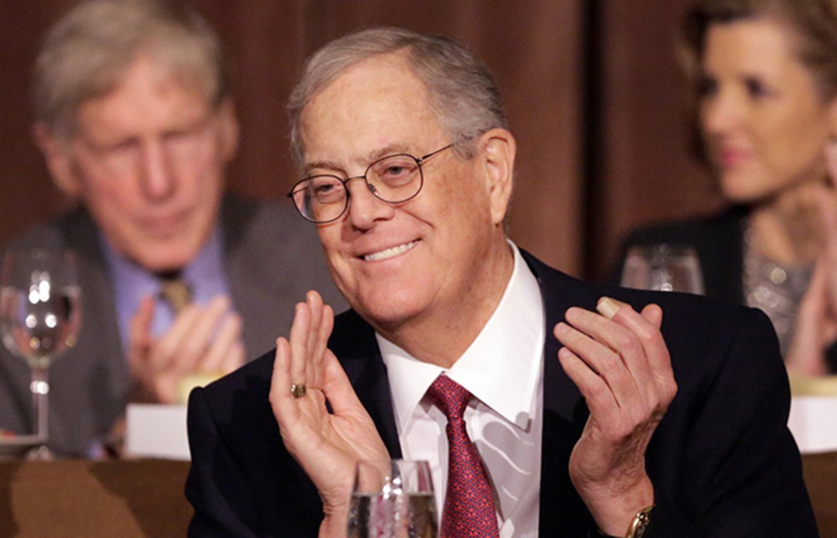 David Koch. (Photo: Public Domain)