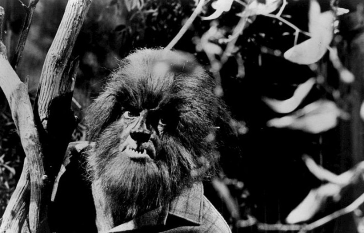A werewolf in the 1960s TV show Dark Shadows. (Photo: Public Domain)