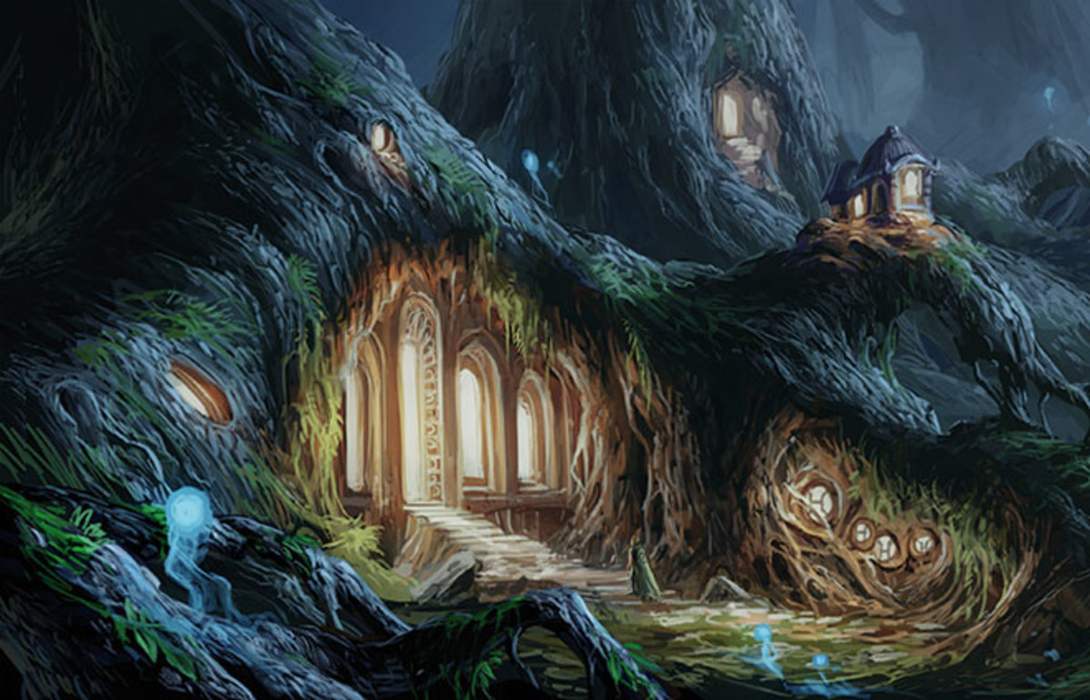 Lagoon: Land of Druids, which Yearsley is editing the rulebook for. (Photo: David Chott)