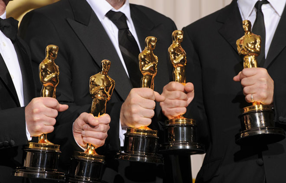 Joel and Ethan Cohen and Scott Rudin at the 80th annual Academy Awards. (Photo: Featureflash/Shutterstock)