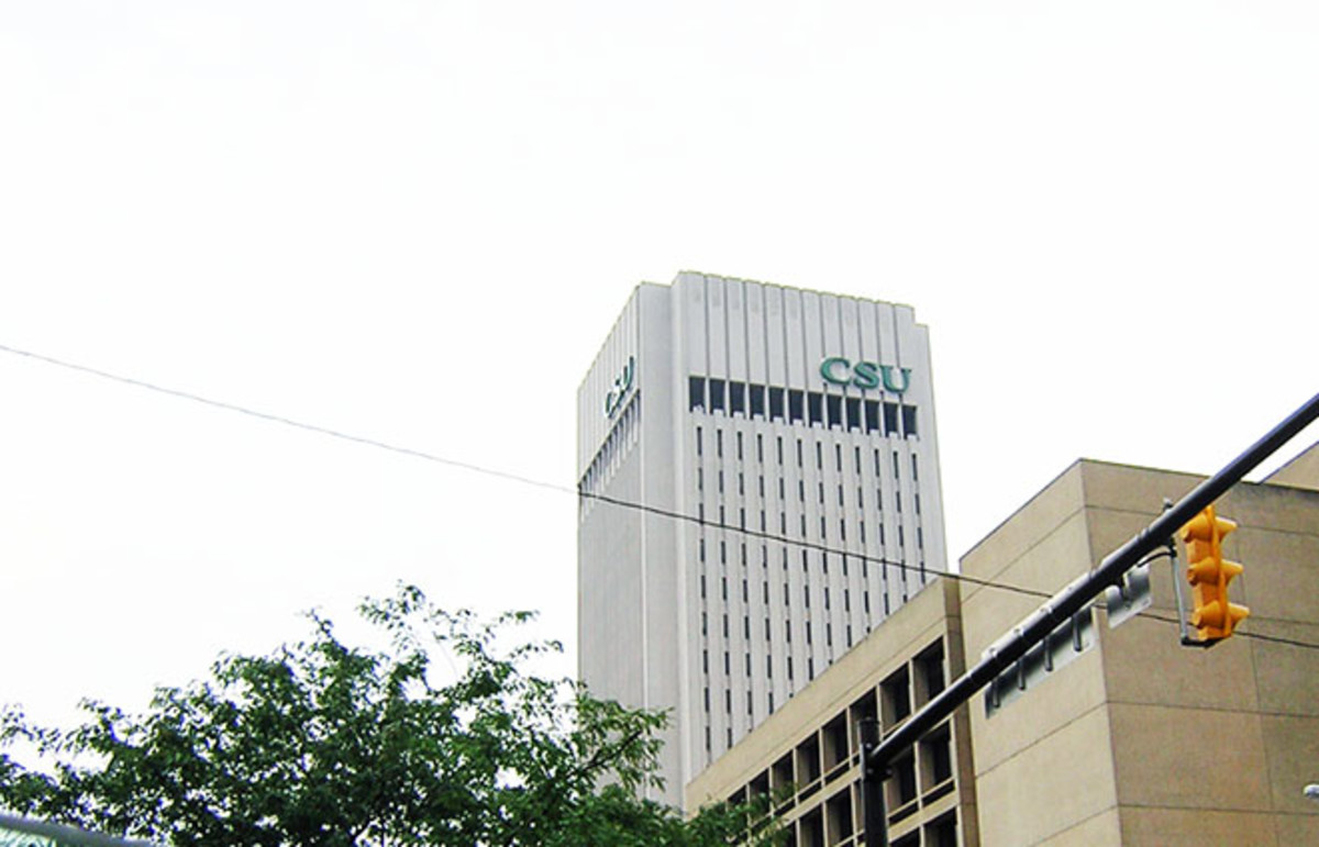 Cleveland State University at seen from Euclid Avenue. (Photo: SarahSphar/Flickr)