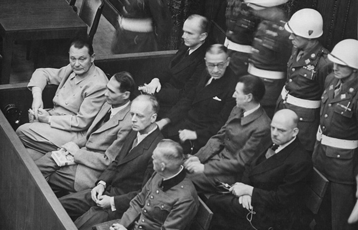 Defendants in the Nuremberg Trials. (Photo: Wikimedia Commons)