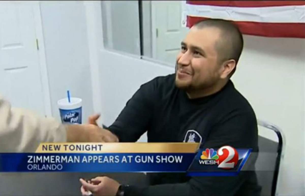 George Zimmerman. (Photo: WESH.com)
