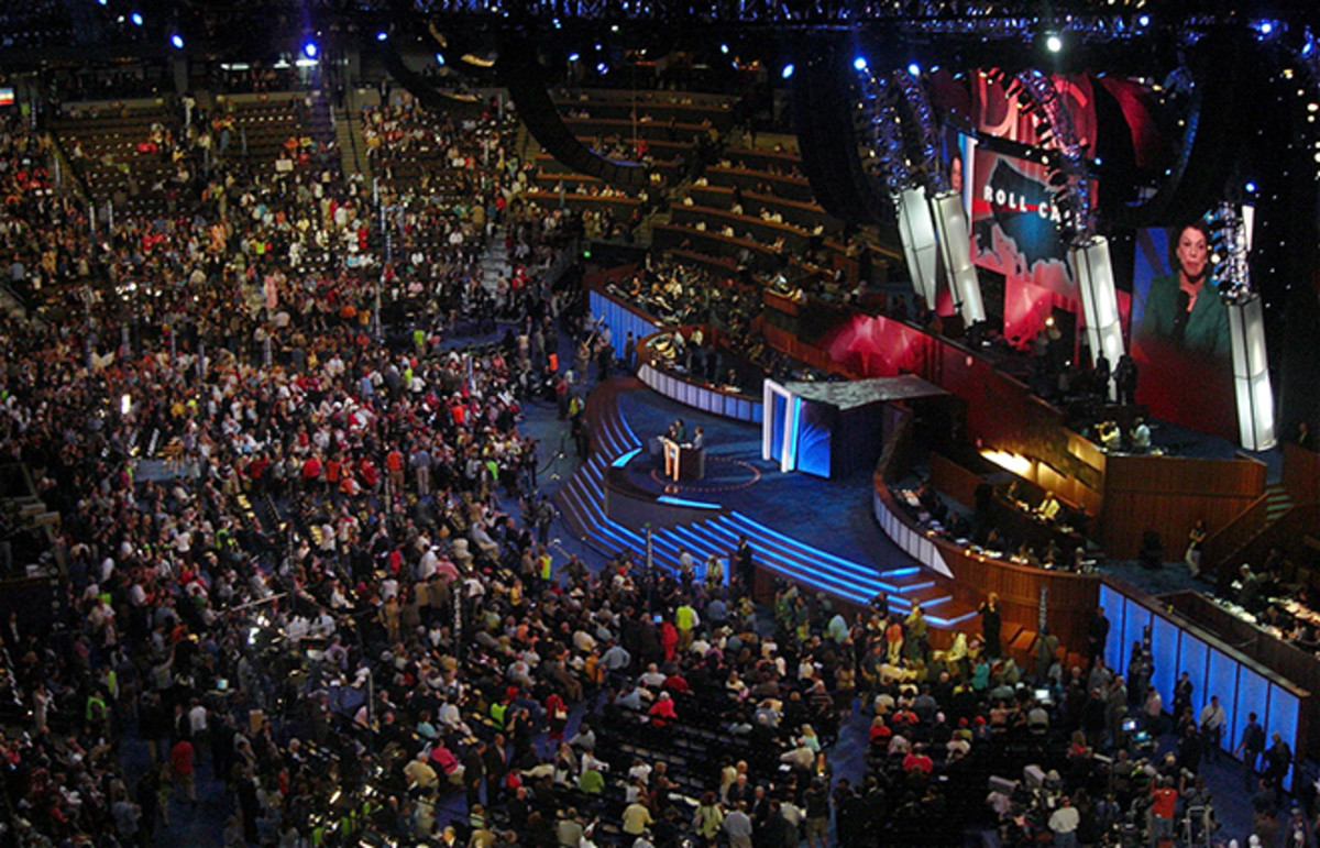 The Democratic National Convention, where Broockman was a delegate for Barack Obama. (Photo: