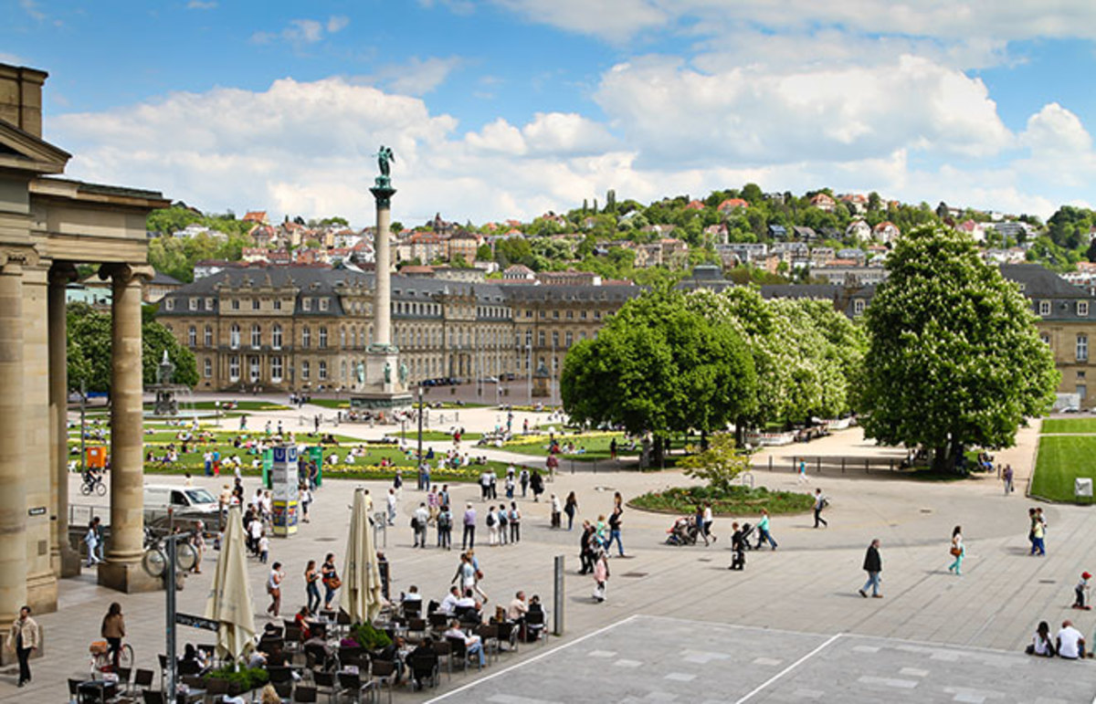 Stuttgart, Germany. (Photo: Jens Goepfert/Shutterstock)