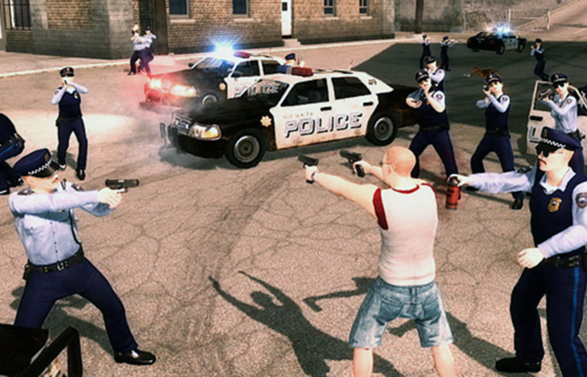 Saints Row 2. (Photo: Volition, Inc.)