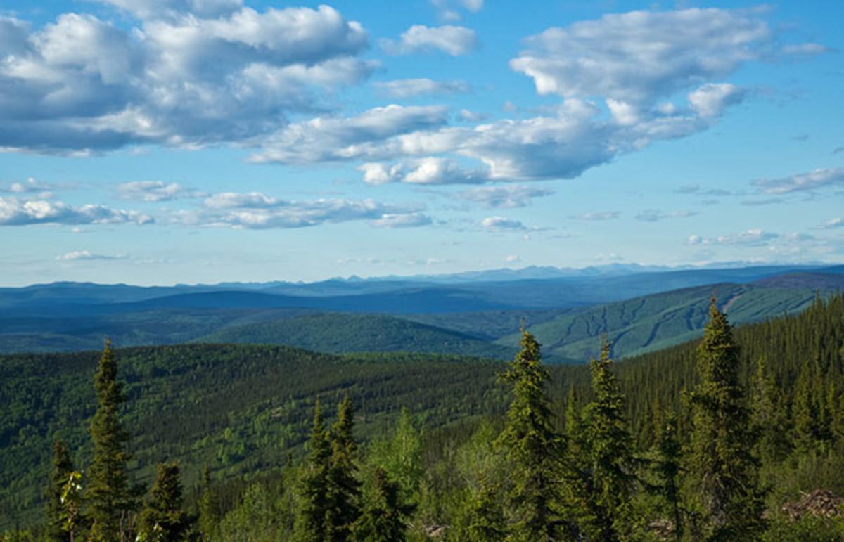 Alaska's White Mountains. (Photo: cecoffman/Shutterstock)