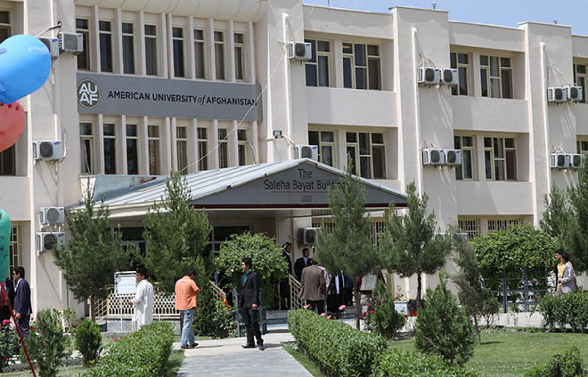 The Saleha Bayat Building at the American University of Afghanistan in Kabul. (Photo: Public Domain)