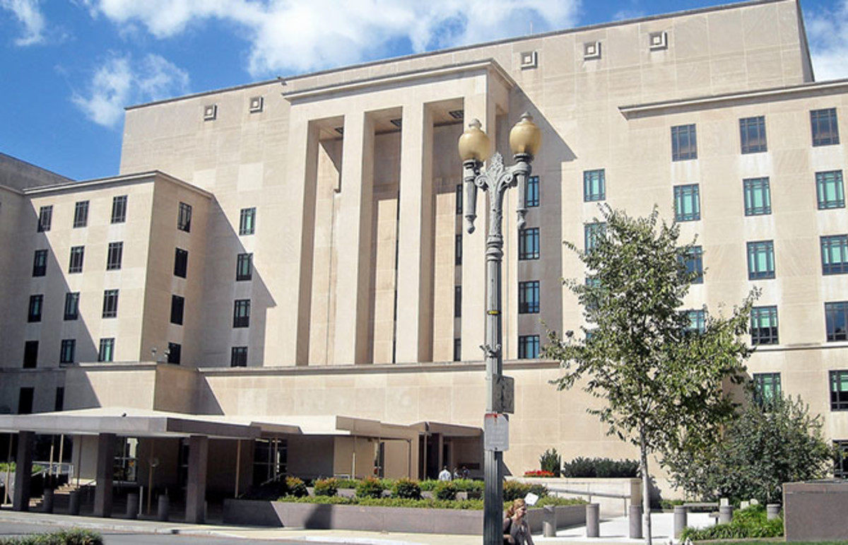 The Harry S. Truman building, headquarters of the U.S. State Department since 1947. (Photo: AgnosticPreachersKid/Wikimedia Commons)