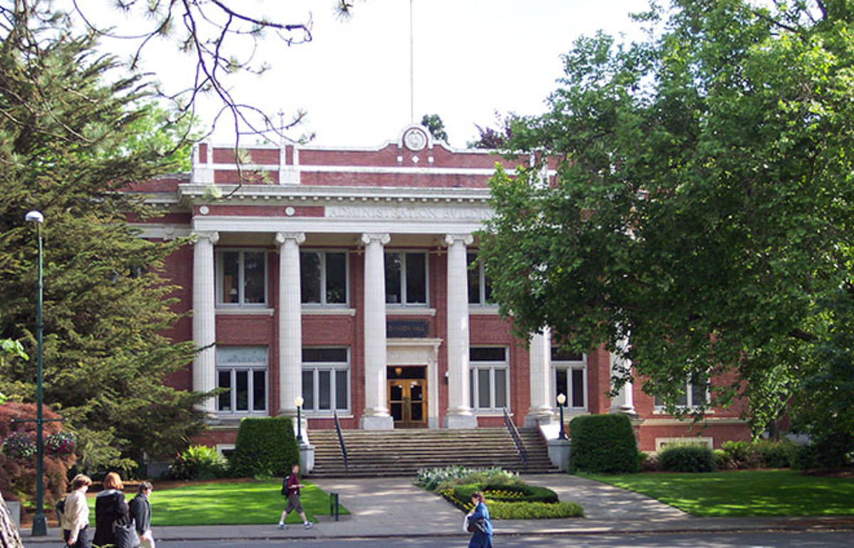 Johnson Hall at the University of Oregon. (Photo: Public Domain)