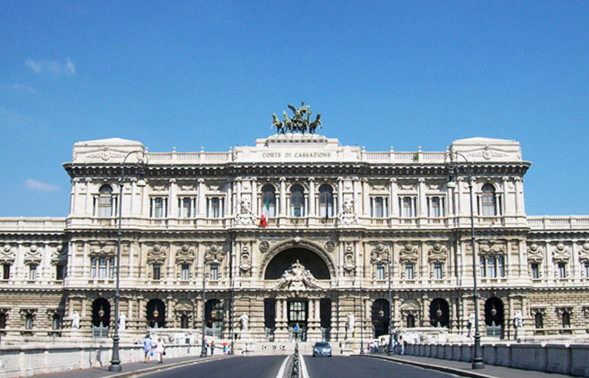 The Palace of Justice in Rome, seat of Italy's Court of Cassation. (Photo: Blackcat/Wikimedia Commons)