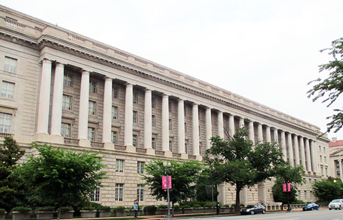 IRS Building in Washington, D.C. (Photo: Joshua Doubek/Wikimedia Commons)