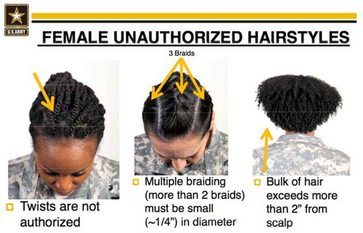 Military Haircut Regulations Army 55