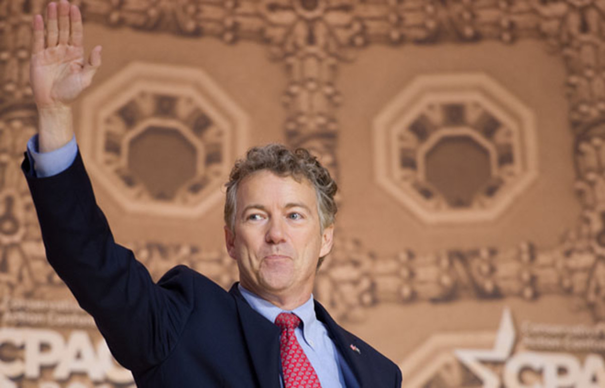 Rand Paul. (Photo: Christopher Halloran/Shutterstock)