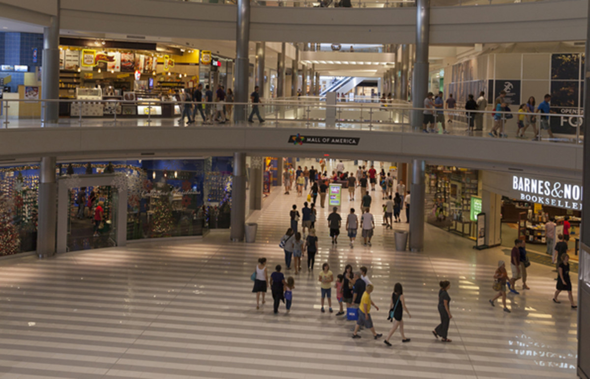 Mall of America. (Photo: Jeffrey J Coleman/Shutterstock)