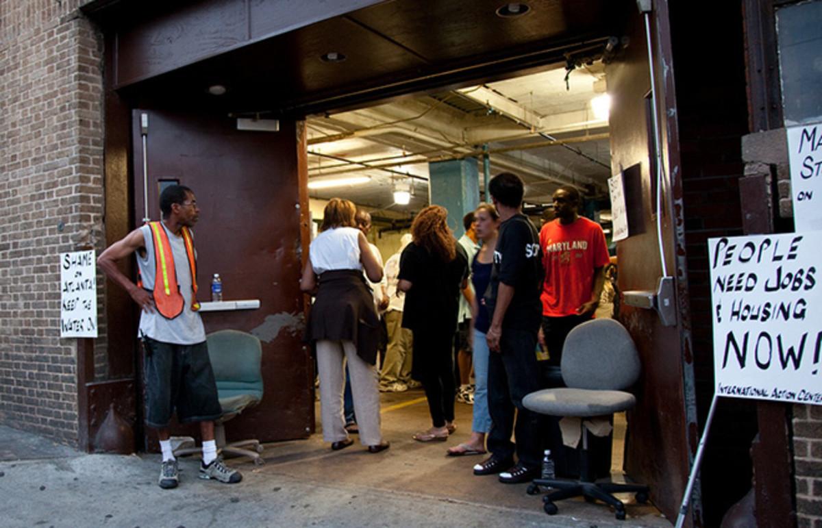 The Peachtree-Pine homeless shelter in Atlanta. (Photo: jramspott/Flickr)