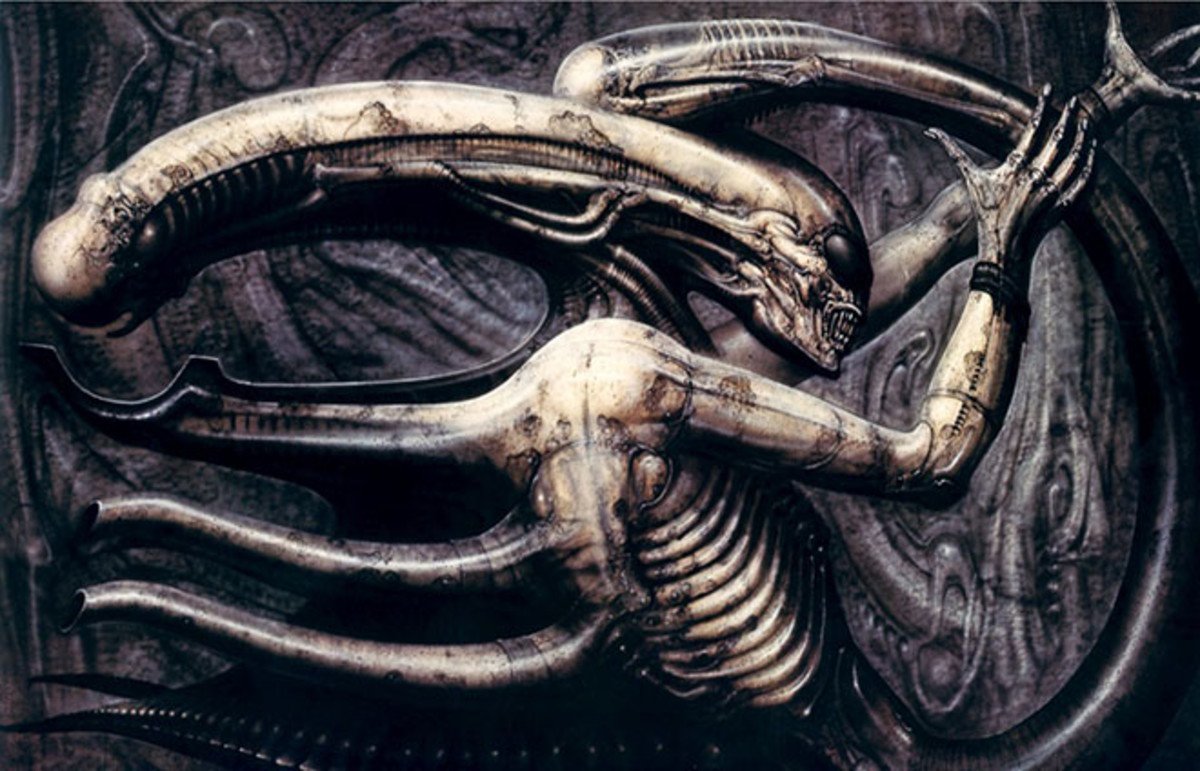 The Horrible Philosophy Behind the Star of 'Alien,' H R
