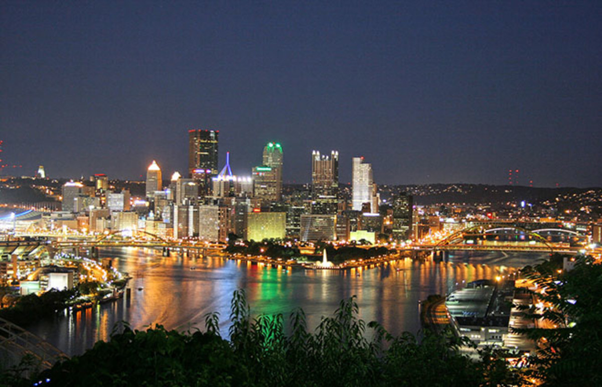 Pittsburgh from the West End Overlook. (Photo: Ronald C. Yochum Jr./Wikimedia Commons)