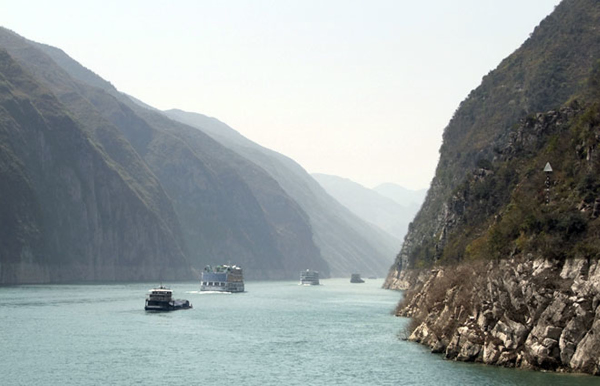 China's Yangtze River. (Photo: PRILL/Shutterstock)