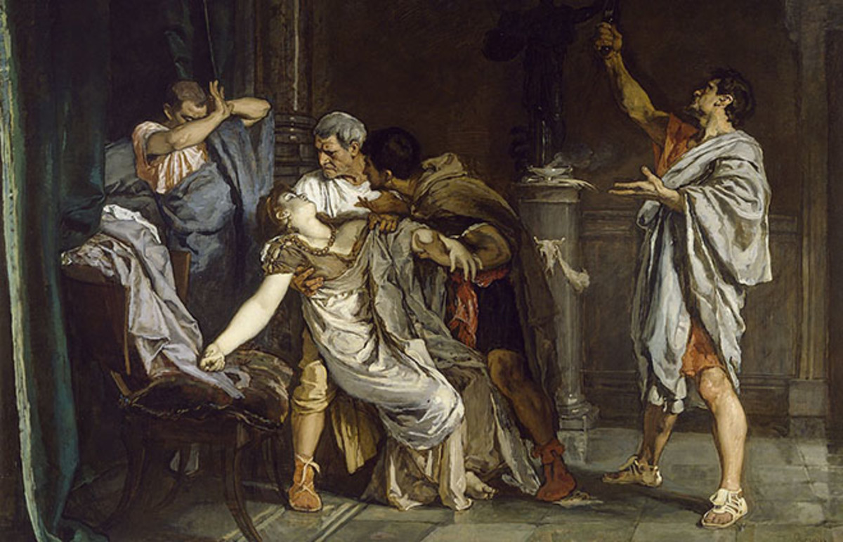 The death of Lucretia, Eduardo Rosales. (Photo: Public Domain)