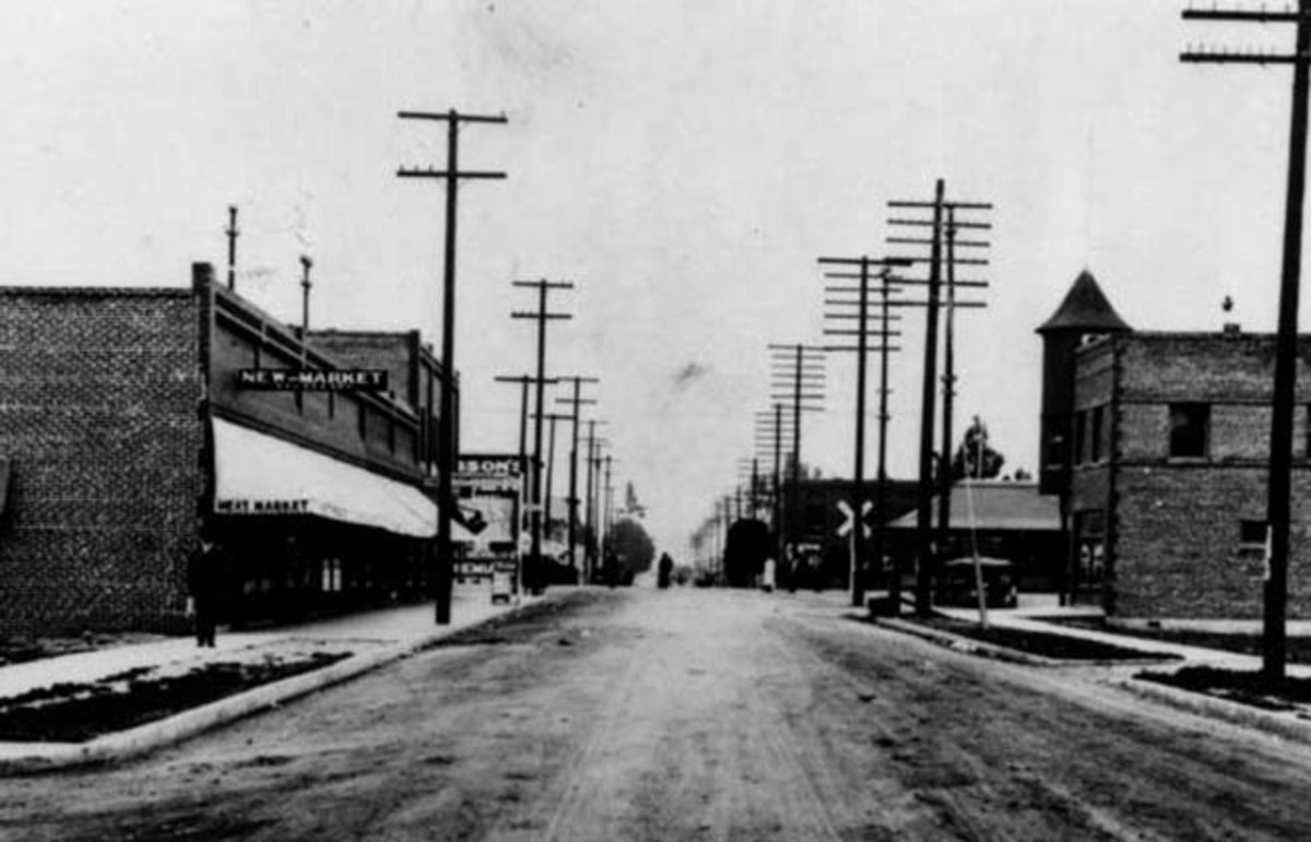 Watts, a neighborhood in South Los Angeles, in 1912. (Photo: Public Domain)