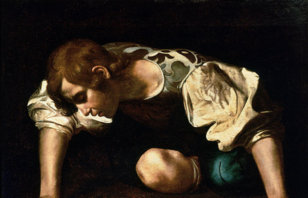 Narcissus, by Caravaggio. (Photo: Public Domain)