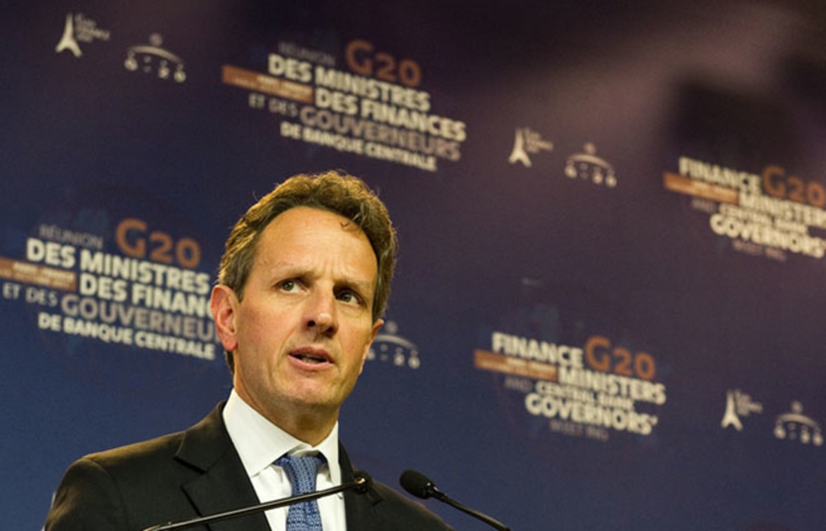 Timothy Geithner. (Photo: Frederic Legrand/Shutterstock)
