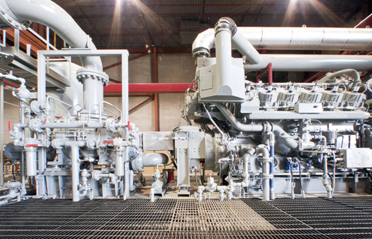 Natural gas compressor station. (Photo: GTS Production/Shutterstock)