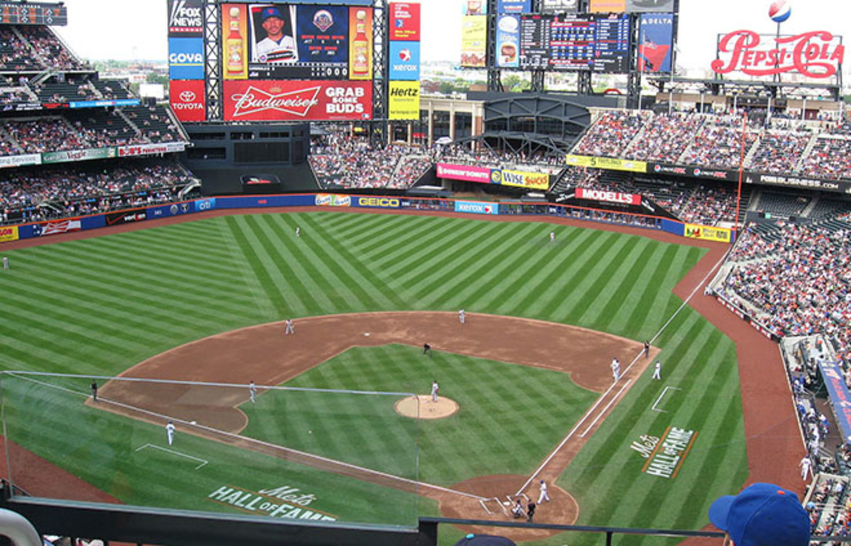 The New York Mets' current stadium, Citi Field. (Photo: Richiekim/Wikimedia Commons)