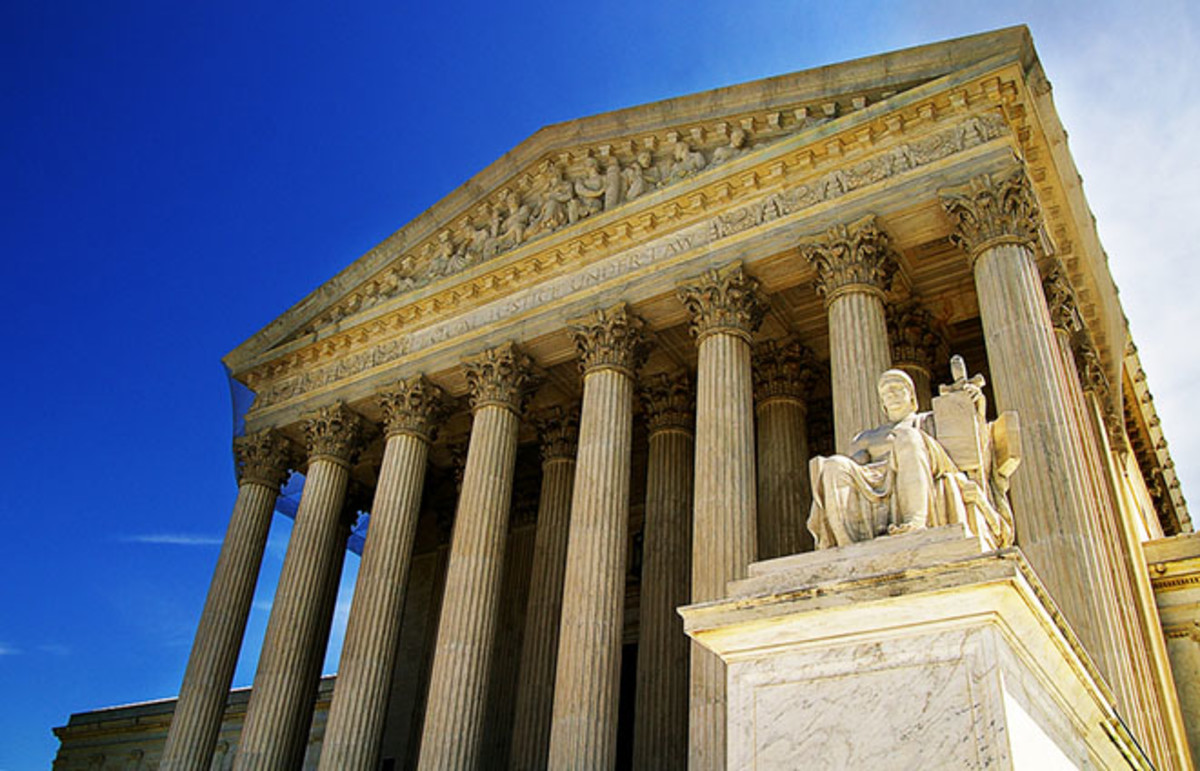 Supreme Court. (Photo: zimmytws/Shutterstock)