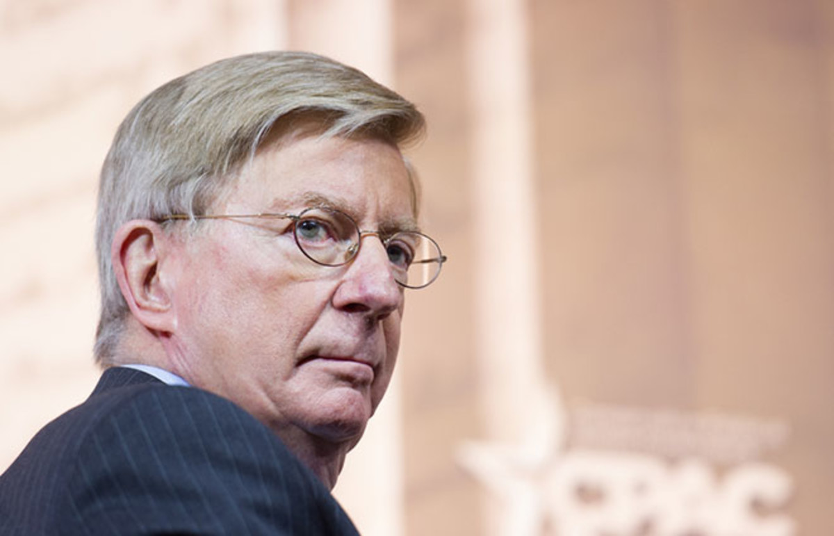 George Will speaks at the Conservative Political Action Conference. (Photo: Christopher Halloran/Shutterstock)