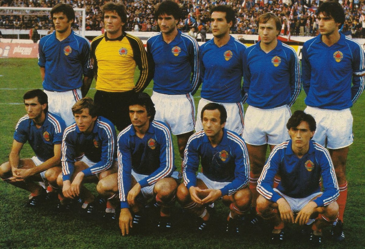 The Yugoslavian national team in 1982. (Photo: Public Domain)