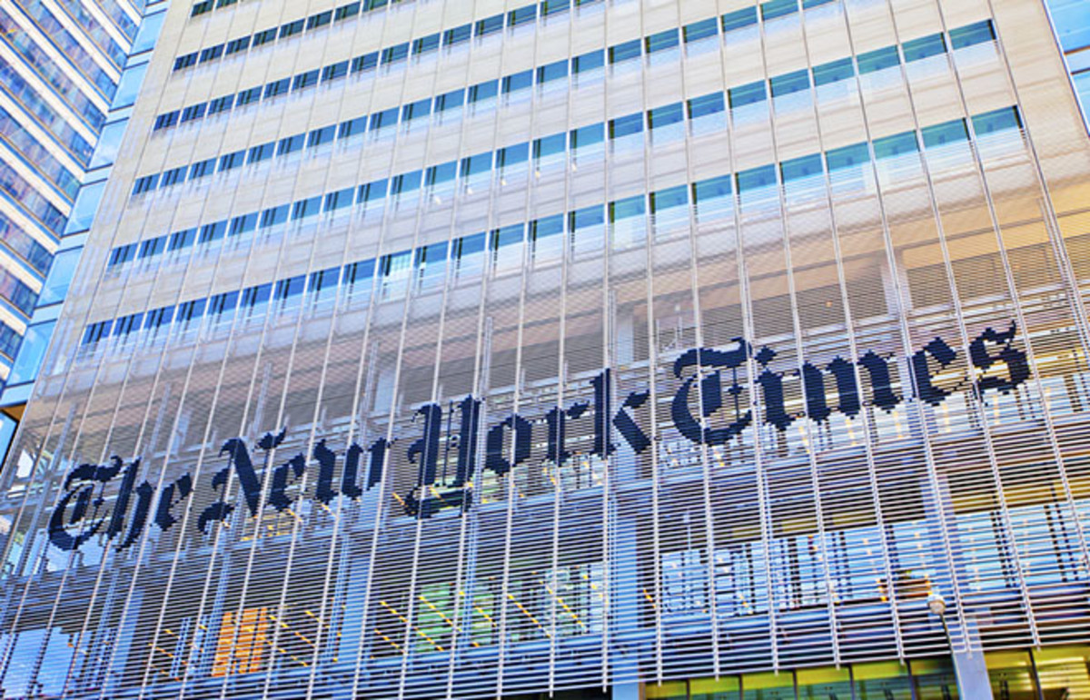 The New York Times. (Photo: Stuart Monk/Shutterstock)