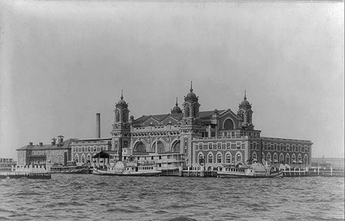 Second Ellis Island Immigration Station. (Photo: Public Domain)