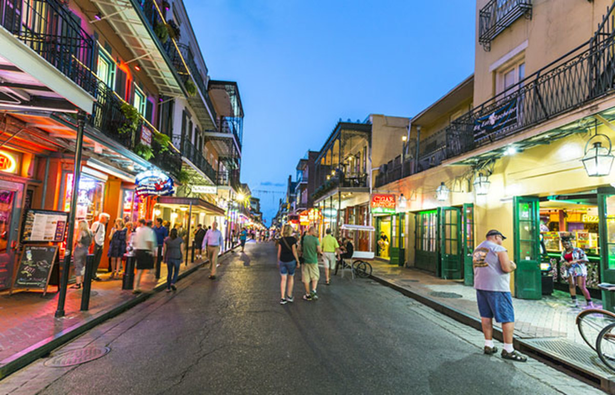 New Orleans, Louisiana. (Photo: Jorg Hackemann/Shutterstock)