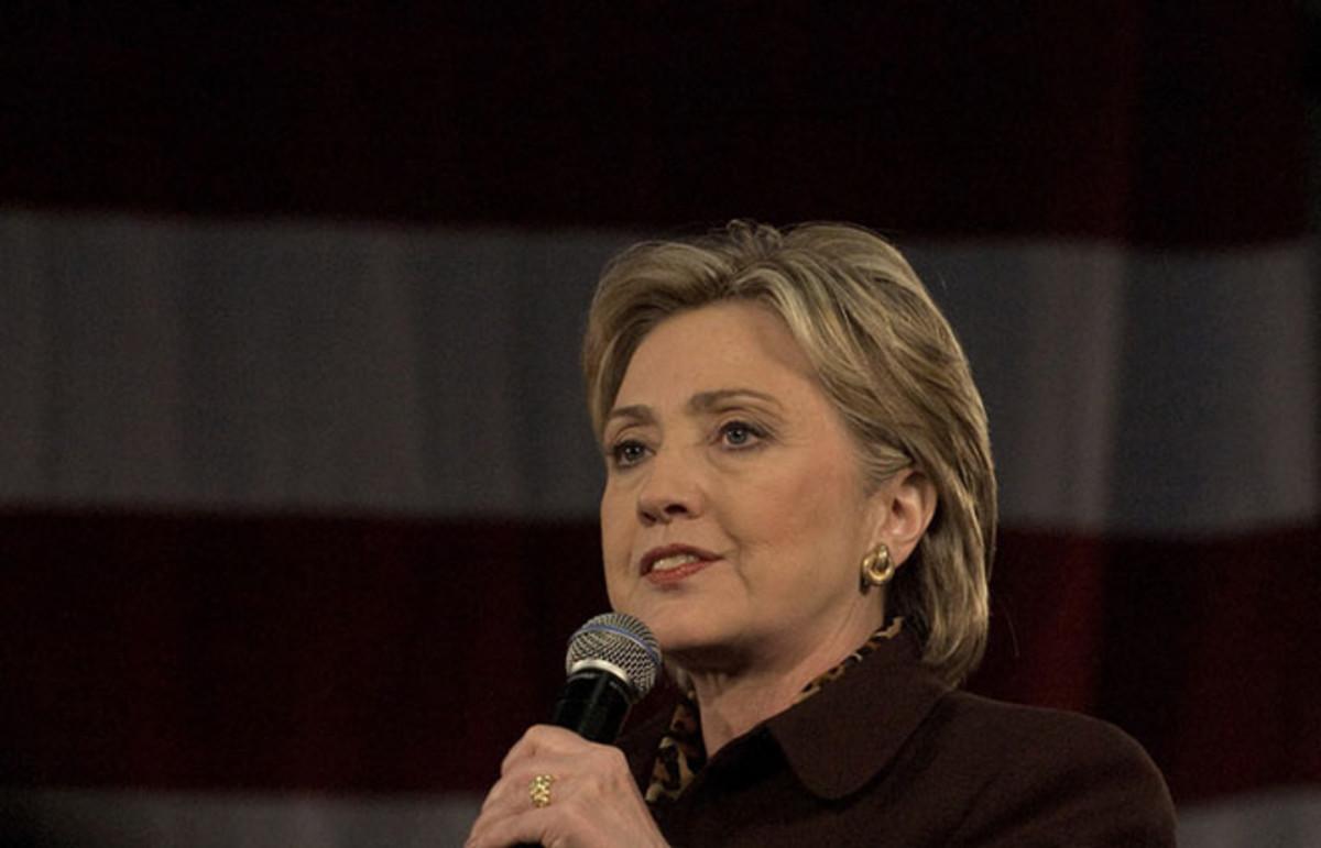 Hillary Clinton. (Photo: Dana Nalbandian/Shutterstock)