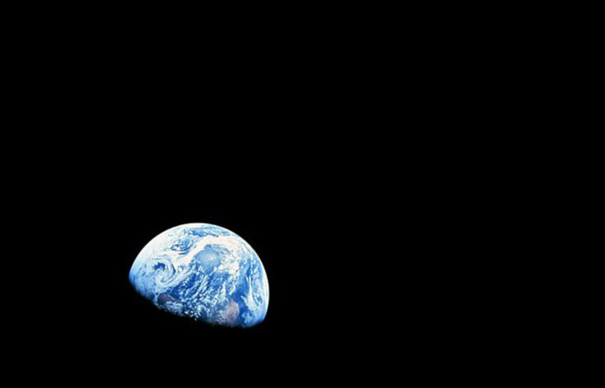 Photograph taken by Apollo 8 crewmember Bill Anders on December 24, 1968. (Photo: Public Domain)