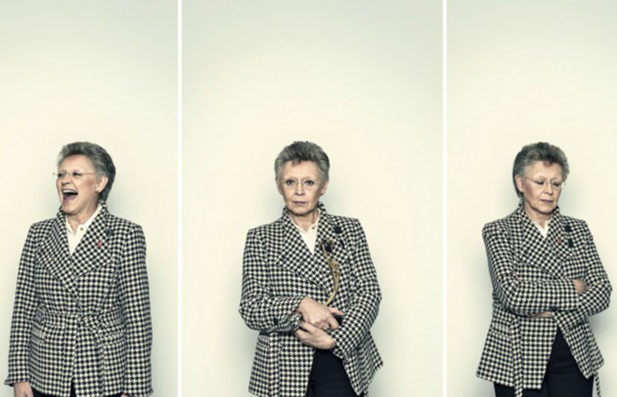 Françoise Barré-Sinoussi. (Photo: Ben Gilbert/Wellcome Images)
